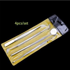 Image 5 - AMSIC 5PCS ทันตกรรมกระจกสแตนเลสชุดเครื่องมือทันตกรรมกระจกทันตกรรมชุดเครื่องมือทันตกรรมทันตแพทย์เตรียมเครื่องมือ