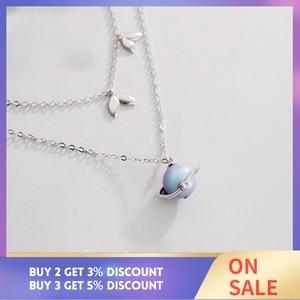 Image 2 - Thaya yaz gecesi rüyası tasarım kolye renkli inciler s925 gümüş gerdanlık kadınlar için zarif takı bayanlar hediye