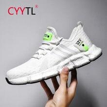 Cyytl Новые мужские повседневные кроссовки дышащие для бега