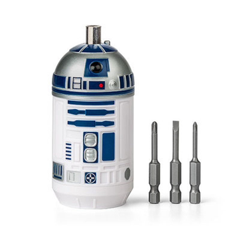Disney Star Wars Film Around Stereoscopic Robot R2-D2 Forged Steel Bits Screwdriver Creative Cartoon Household Tools X4890 image