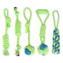 Pet Dog Supplies Multi-piece Puppy Cotton Chew Knot Toy Durable Braided Bone Rope