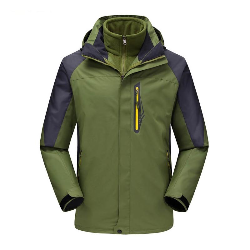 1 jaquetas de esqui dos homens jaqueta