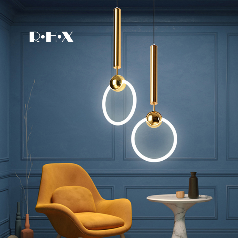 Japan Pendant Lights Industrial Lamp Glass  Living Room  Home Decoration E27 Light Fixture Hanging Ceiling Lamps Deco Maison