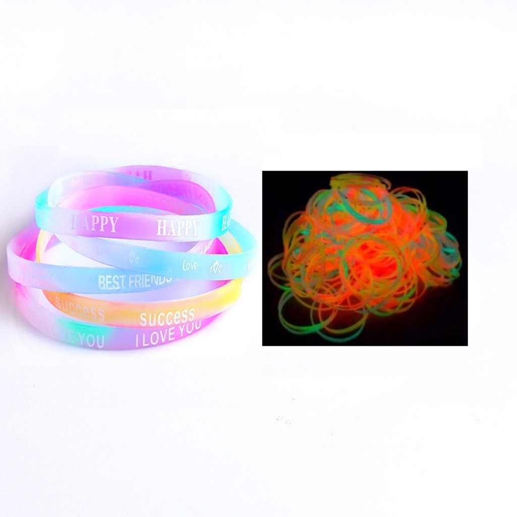 หลายสีLight SticksเรืองแสงเรืองแสงSticksกำไลสร้อยคอNeon PartyซัพพลายLuminousตกแต่งLight Upของเล่น