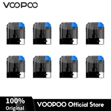 8Pcs/Pack VOOPOO VFL Pod Cartridge 0.8ml Capacity 1.2ohm Coil Plastic Replacement Top Fill Two Airflow Holes