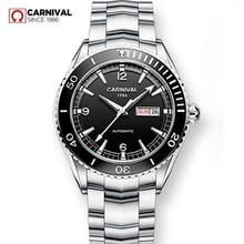 ميوتا التلقائي ساعة الرجال الياقوت الفاخرة العلامة التجارية كرنفال الميكانيكية الرجال الساعات مقاوم للماء relogio masculino relojes hombre2020