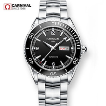 MIYOTA אוטומטי שעון גברים ספיר יוקרה מותג קרנבל מכאני גברים שעונים עמיד למים relogio masculino relojes hombre2020