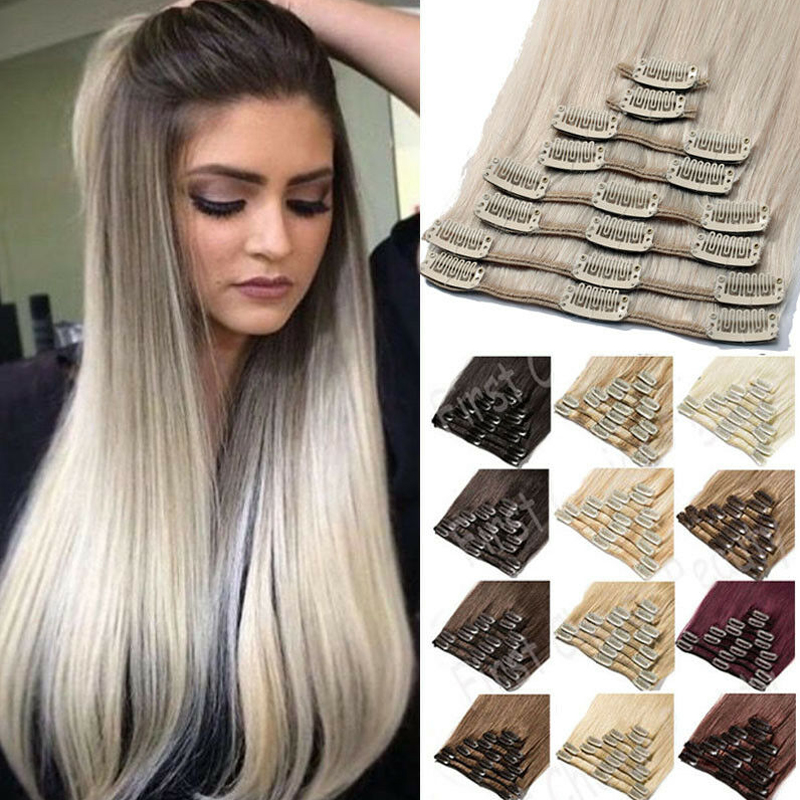 WERD High Quality 22 Inch Wig Hair Extension Sheet For Women's High Temperature Chemical Fiber Synthetic Hair Extension Gradient