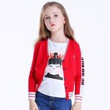 Стильный свитер на осень и зиму пальто с длинными рукавами для девочек модный стиль в европейском и американском стиле