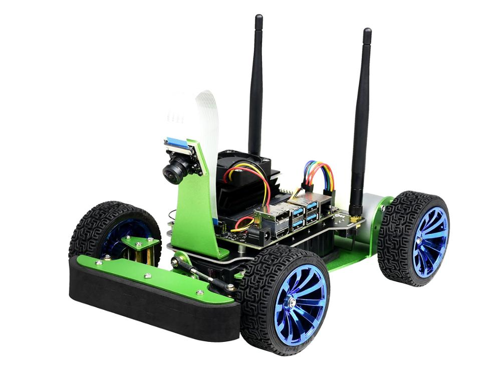 Waveshare DonKeyCar JetRacer AI Kit AI Racing Robot Powered By NVIDIA Jetson Nano (B01)
