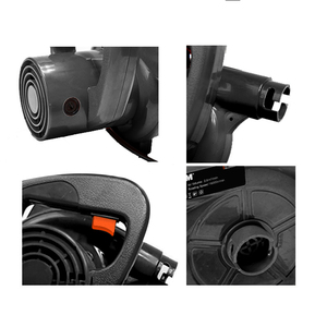 Image 2 - LOMVUM Air Blower 1000W Electric Air Blower Computer Cleaning Blower Dust Vacuum Cleaner Home Car Cleaner Mini Carbon Brush 220V