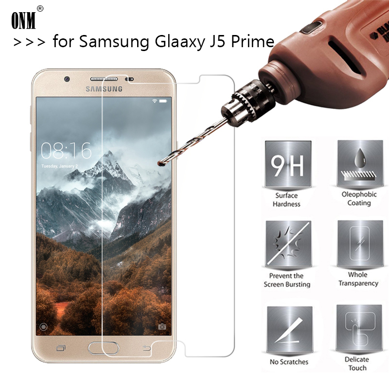 2.5D 0.26mm 9H Premium Tempered Glass For Samsung Galaxy J5 Prime SM-G570F G570F G570 Screen Protector Toughened Protective Film