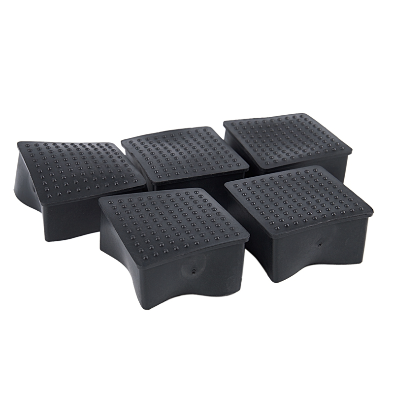 Hot XD-Square Feet Table Chair 5 Pieces In Soft PVC 60mm X 60mm