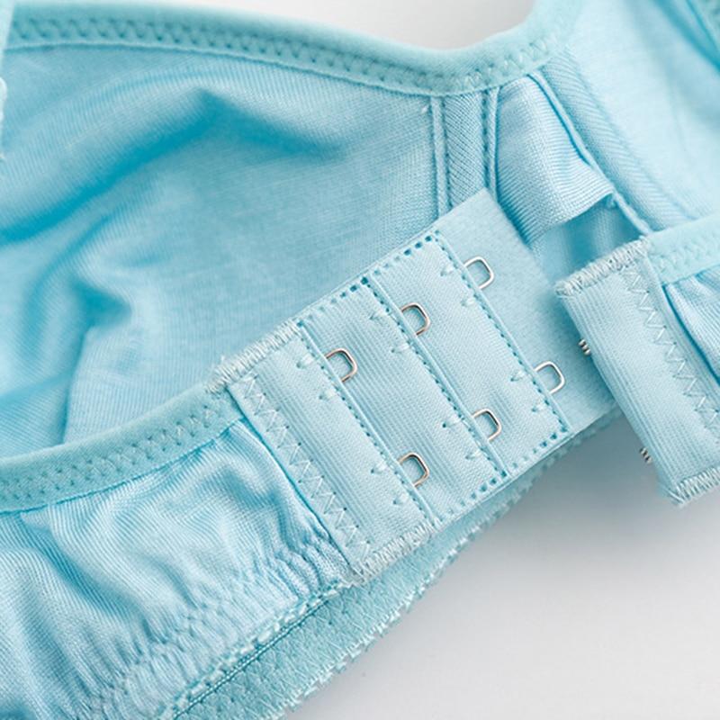Image 5 - 100% Natural silk Sexy Bras for Women Push Up Lingerie Seamless Bra Bralette Wire Free Brassiere Female Underwear IntimatesBras   -