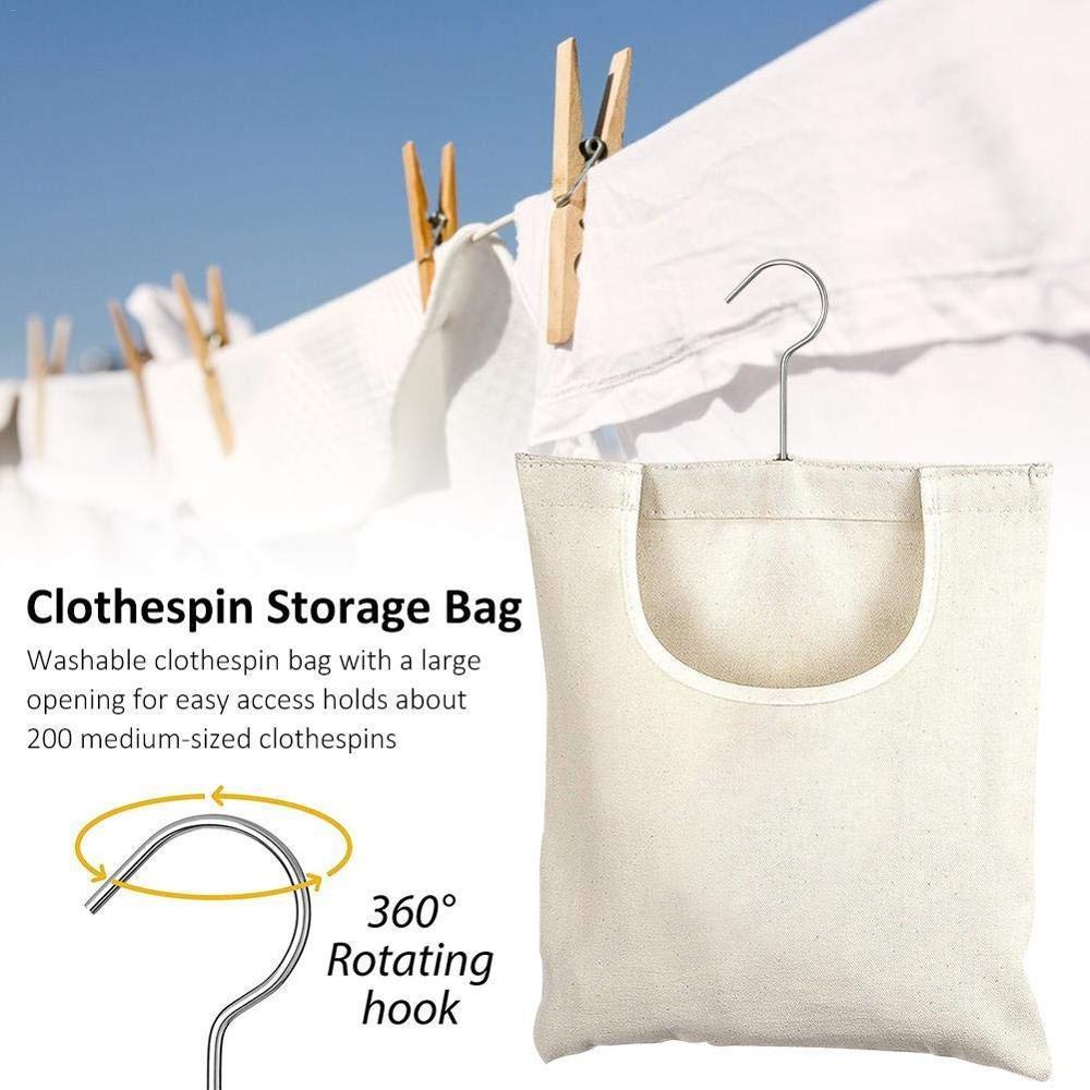 Холщовая прищепка, сумка для хранения, органайзер для стирки одежды, держатель для булавок, сумка для хранения на открытом воздухе