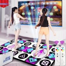 KL английское меню танцевальные коврики для ТВ PC компьютер флэш-свет руководство двойной танцевальный коврик беспроводной контроллер Игры Коврик для занятия йогой, фитнесом
