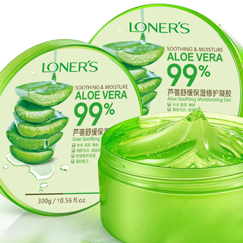 300g 99% Aloe Soothing Face/Hand/Body Gel Aloe Vera Gel Skin Care Remove Acne Moisturizing Day Cream After Sun Lotions Aloe Gel