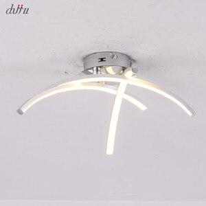 Image 2 - Creativ ledシーリングライトリビングルームダイニングルミナリアスパラテトled天井用のランプハンギングホーム照明器具