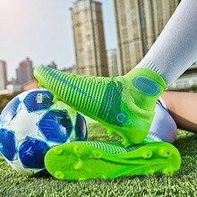 Роскошные Брендовые мужские уличные длинные носки с шипами, футбольная обувь, женская удобная обувь для футбола, женская обувь унисекс, мужская спортивная обувь, большие размеры