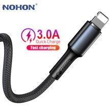Câble USB pour iPhone X XS Max XR 11 10 8 7 6 5 S SE 5SE 5S 6S Plus Apple iPad mini air chargeur de données de charge rapide 1m 2m 3m cordon de téléphone portable court Long fil d'origine 1 2 3 m