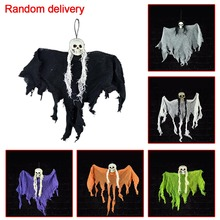 Hanging Skeleton Ghost Halloween Decoration for Party DIY Props Supplies