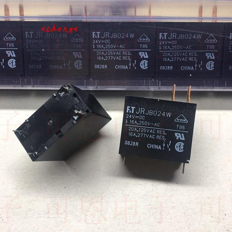 JR JB024W New Original F.T Relay 24VDC 16A-20A Genuine Quality Stock