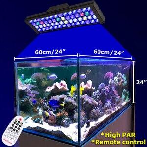 """Image 2 - 2PCS PopBloom Aquarium Led Lighting Lamp Led Aquarium Reef Led Light Aquarium Lighting Marine Aquarium 120cm/48"""" Remote Control"""
