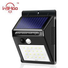 Inghoo Solar Lights Outdoor 20 LED Wireless Waterproof Security Solar Motion Sensor Lights