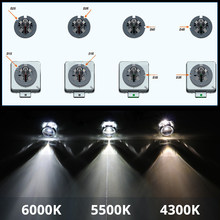 SHUOKE bi xenon reflektor hid zestaw żarówek D1S D1R D2S D2R D3S D3R D4S D4R D5S D8S 12V 25W 35W 4300K 5000K 6000K 2 sztuk darmowa wysyłka