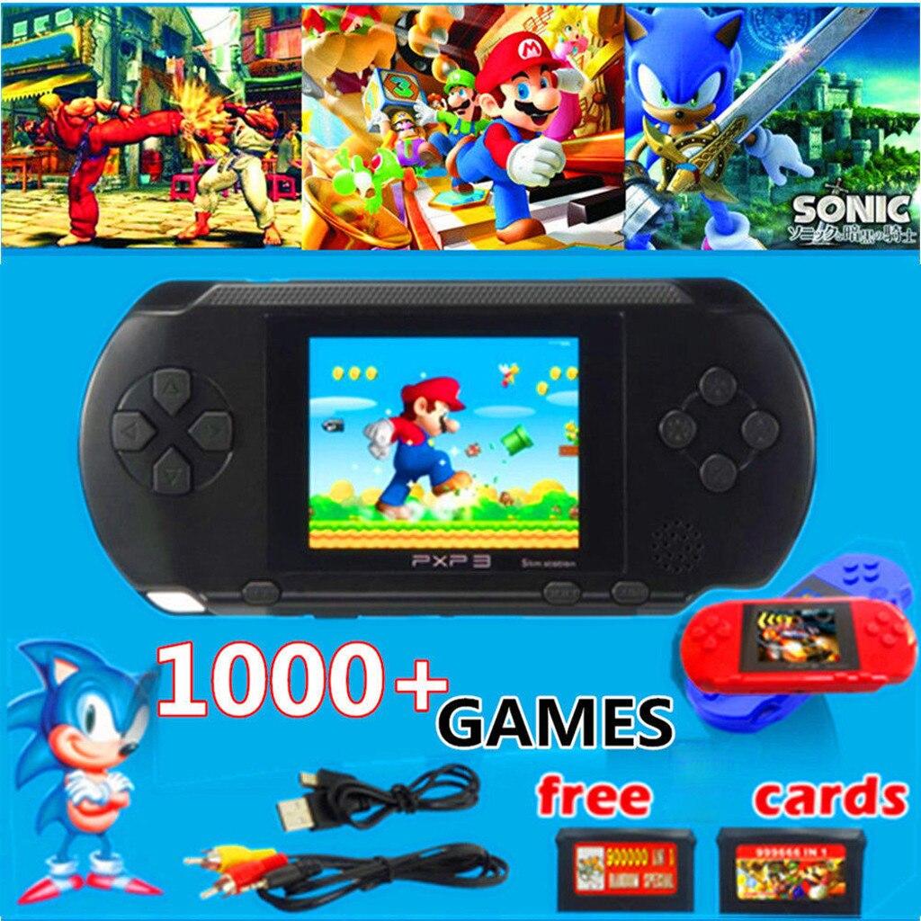 Console de jeu Portable rétro classique, écran LCD de 2.7 pouces, 16 bits, avec câble USB, pour jeux vidéo et TV