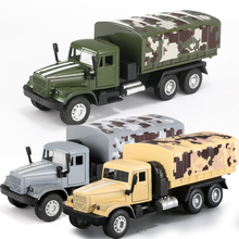 15 Kinds Sound Light Military Truck Model 1:43 Pull Back Alloy Diecast & Toy Vehicle Collectible Toy Cars for Boy Children Y180