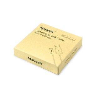 Image 5 - MaGeek [3 Pack] 1m MFi Certified Relâmpago para USB Cabos de Telefone Móvel para o iphone 12 11 Xs Max X 8 7 6 5 Ar iPad iOS 14 13
