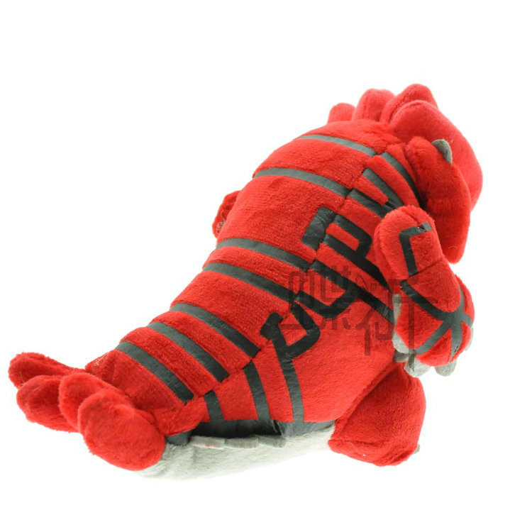 Pokemon With Pockets Monster Pocket Monster Plush Doll Toy Ruby Groudon