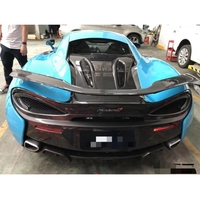 For McLaren 570S 540C 570GT NOVITEC Style real Carbon Fiber Rear Wing Rear Spoiler