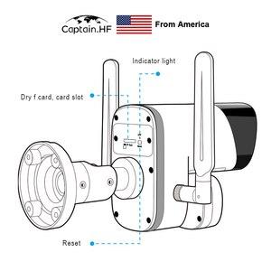 Image 5 - US Captain  Cámara inalámbrica WIFI de visión térmica, medición de temperatura, cámara de imagen térmica infrarroja, imagen de cara automática