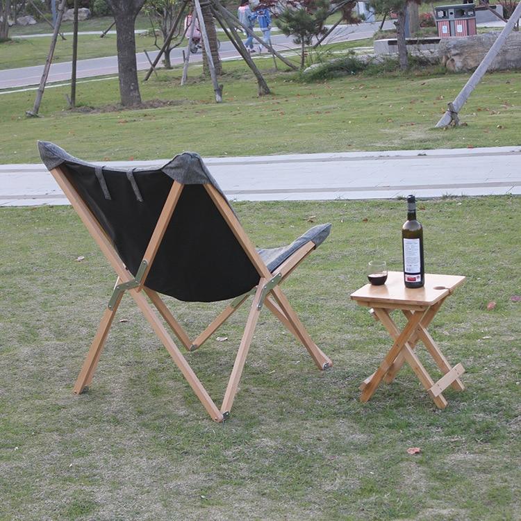 Katlanır Kelebek Sandalye Kumaş Yastık Döşeme Oturma Odası - Mobilya - Fotoğraf 4