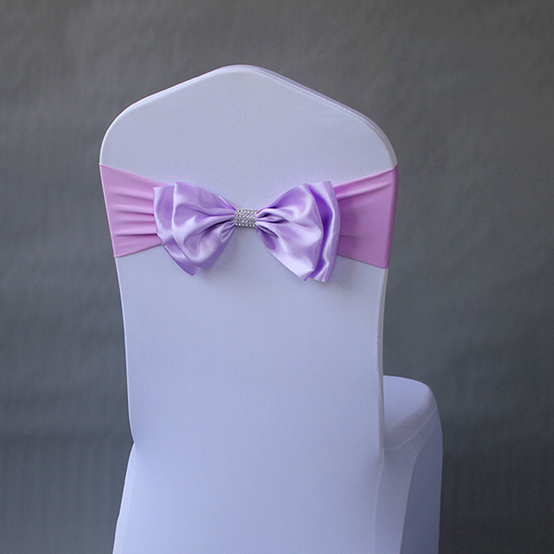 10pcs/pack Banquet Seat Decoration Sashes Decoration Accessory For Wedding Chair Sashes Cute Adjustable Bow Tie Ribbon Bands|Sashes| |  - title=