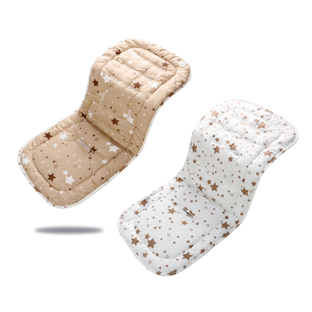1pc Baby Stroller Accessories Seat Pad Cotton Diapers Changing Nappy Pad Seat Newborn Kids Carriages Pram Buggy Car General Mat