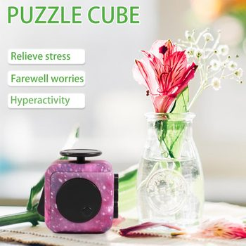 цена на Multi-faceted Professional Puzzle Rotating Smooth Cubos Magicos relex Gifts