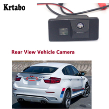 Krtabo For BMW X6 M 2009 2010 2011 2012 2013 2014 Waterproof Car Rear View Back Up Reverse Parking Camera high quality CCD