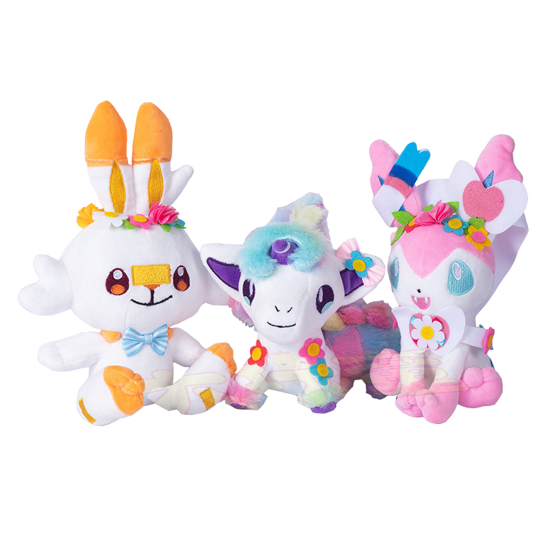 Wreath Ponyta Scorbunny Sylveon Plush Doll Eevee Grookey Sobble Stuffed Toys Sword Shield Anime Kids Halloween Christmas Gifts Flash Sale 8c19 Cicig Published as one horse open sleigh, it commemorated the popular sleigh races of the 1800s. wreath ponyta scorbunny sylveon plush