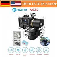FeiyuTech WG2X estabilizador de 3 ejes cardán portátil a prueba de salpicaduras, para Cámara de Acción GoPro Hero7/6/5 Session 4/5 Yi 4 K/AEE SJCAM