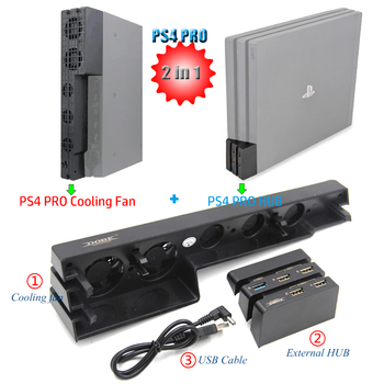 control for sony ps4 game console play station playstation ps 4 pro cooler cooling fan dc 5v usb gadget controller refrigeration Base Support for Sony Playstation Play Station PS 4 PS4 Pro Stand Control of Cooler Cooling Fan Game Console USB Hub Accessories
