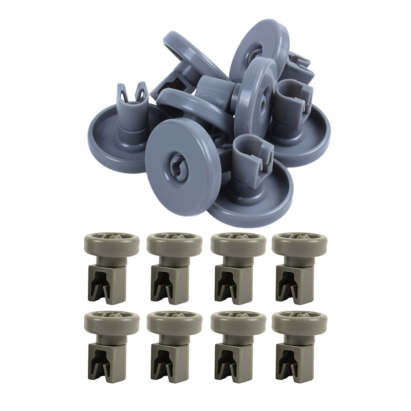 16Pcs Upper Basket Rollers For Dishwasher, For Aeg Favorit, Privileg, Zanussi, Etc - 8Pcs 40Mm & 8Pcs 25Mm