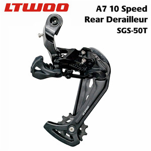 Image 3 - LTWOO A7 10 Speed Shifter + Rear Derailleur + Cassettes / 104BCD Chainrings + 10S Chains Groupset for PCR BEYOND DEORE MTB Bike