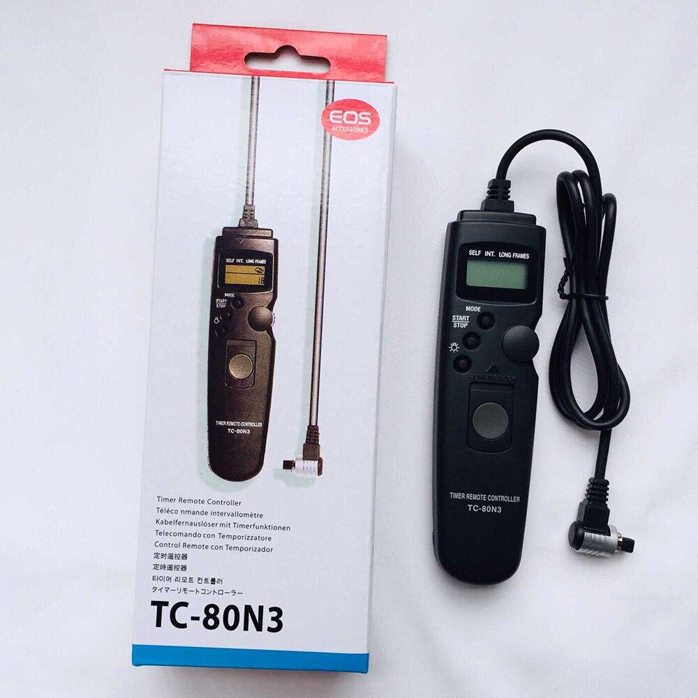 Timer Remote shutter release for Canon 6D 1D 5D II III 7D 10D 40D 50D 20D 30D fo