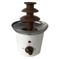 Novo mini fonte de chocolate casa máquina fusão chocolate aquecimento elétrico fonte de chocolate casa (plug ue)|Processadores de alimentos| |  -