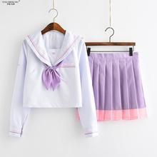 Suit Jk-Uniform Jk-Sets Pleated-Skirt Japanese College-Style School Student Cute Class