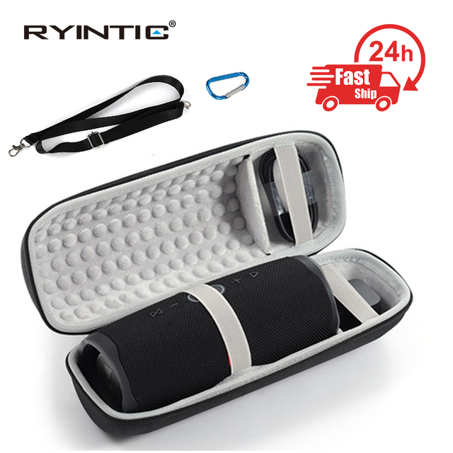 Protable EVA Hard Travel Protective Case For JBL charge4 charge 4 Wireless Bluetooth Speakers & Extra Space with Accessories