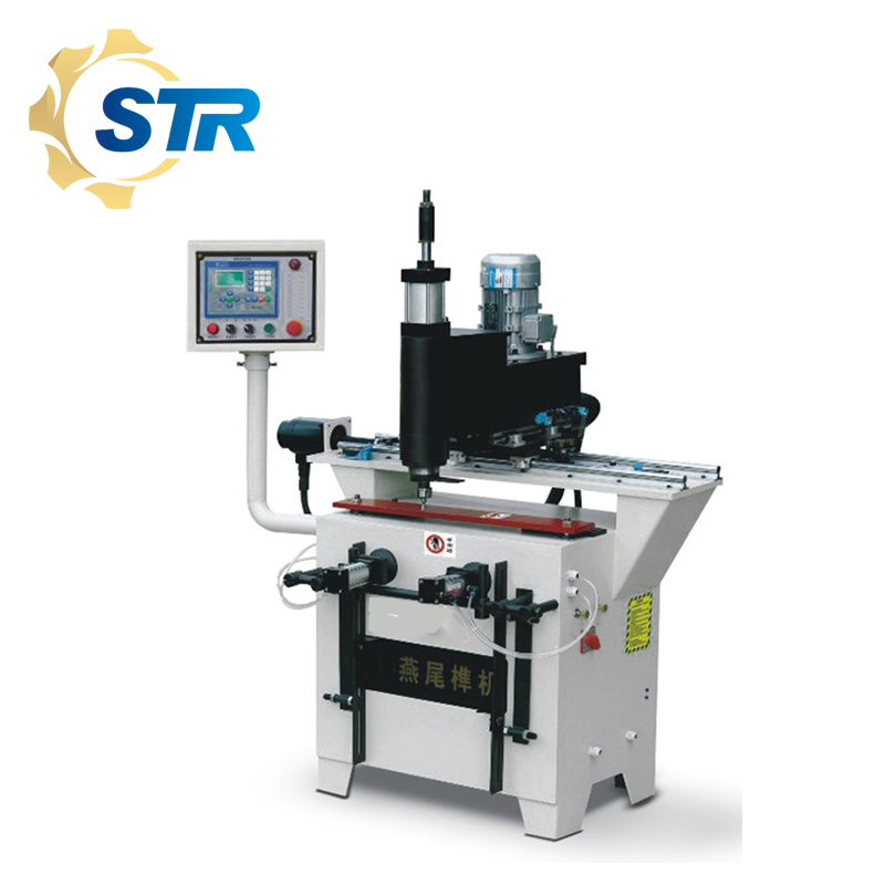 LIVTER machines à bois CNC automatique queue daronde machine GY-500Z (tenon triangulaire)